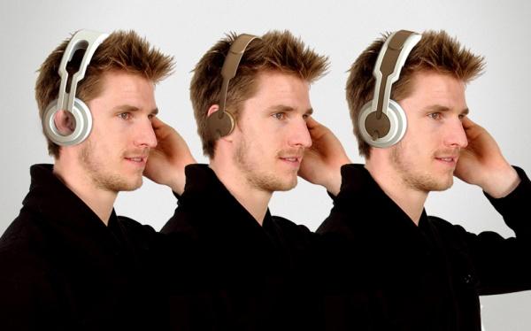 twin headphones