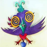 Twitter Birdie Wall Clock