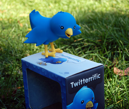 Twitterrific Ollie the Bird Twitter Mascot Mini-Figure