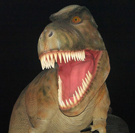 The impressive Life-Sized Tyrannosaurus Rex Dinosaur Replica is available