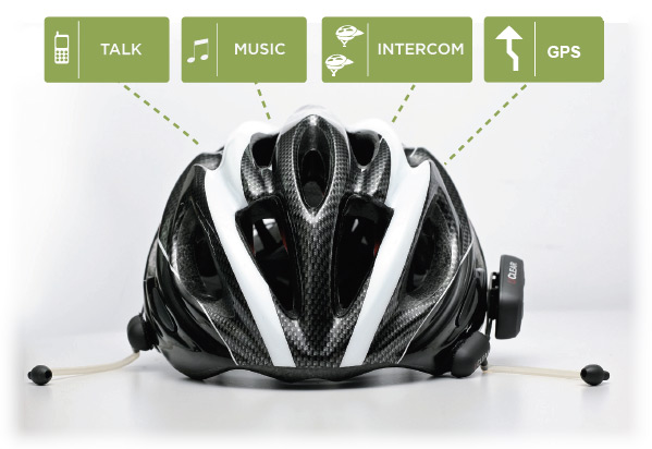 UClear HBC130 Bicycle Helmet Communicator