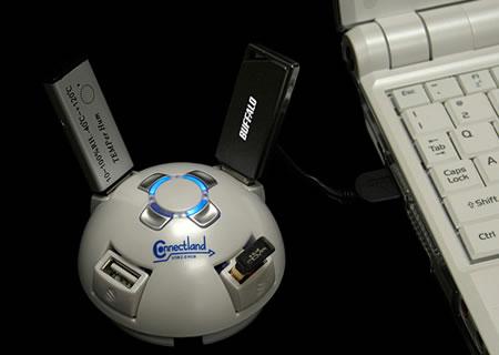 USB UFO 4-Port Hub