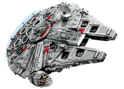 Ultimate Collector's LEGO Millennium Falcon