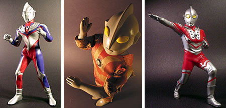 Ultraman Toy Collection