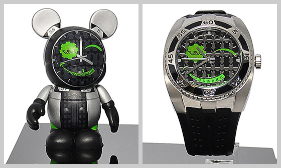Vinylmation Mickey Mouse Figure and Watch