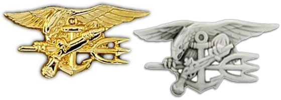 US Navy Seals Insignia Pins
