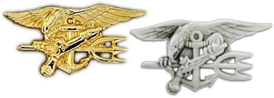 US Navy Seals Insignia Pins