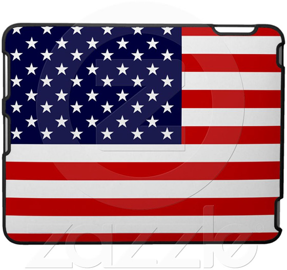 USA Flag iPad Case