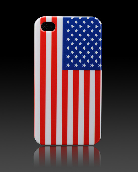 USA Flag Apple iPhone4 Case