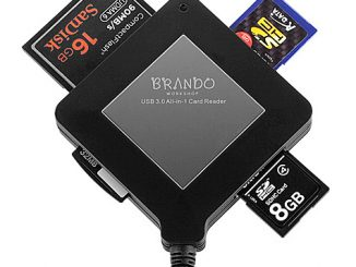 Brando Workshop USB 3.0 All-in-One SuperSpeed Card Reader