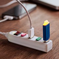 4-Port USB Power Strip