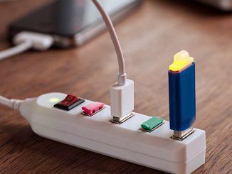 4-Port USB Power Strip