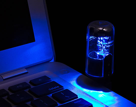 Illuminated Usb Audio Tube
