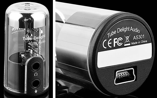 USB Sound Card Tube for PC