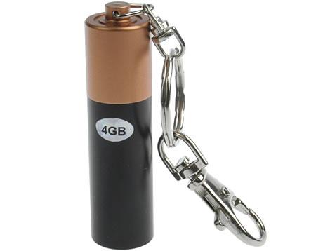 USB Battery-Like Flash Drive