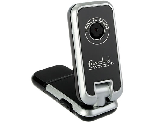 USB Webcam with Built-In Card Reader
