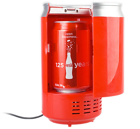 Usb can shaped cooler and warmer Can you put hot food in the refrigerator