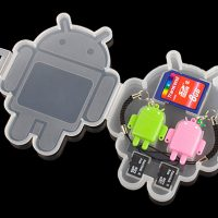 USB Flash Card Reader Android Robot