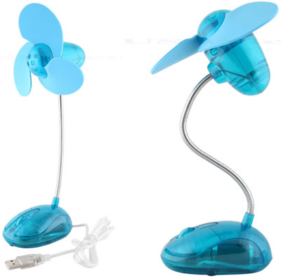 USB Foam Blades Fan