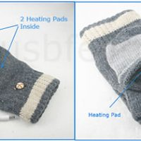 USB Gloves with Heater