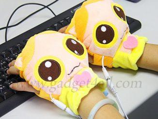 USB Heated Kitty Gloves