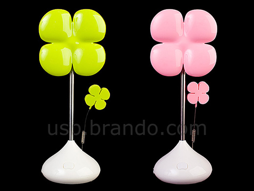 USB Lucky Flower Light with Memo Clip
