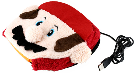 Mario Mouse Pad Hand Warmer