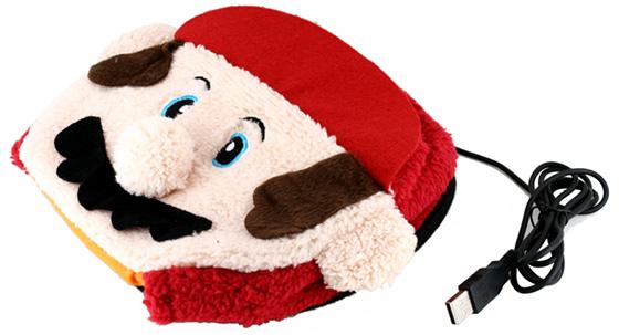 Mario Mouse Pad Hand Warmer