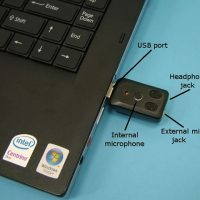 World's Smallest USB Microphone