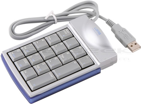 USB Keypad with PS/2 Port