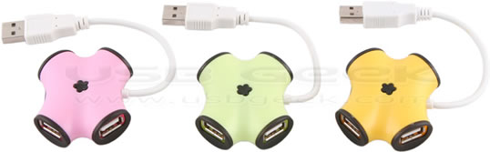 Cashew Nut USB Hub