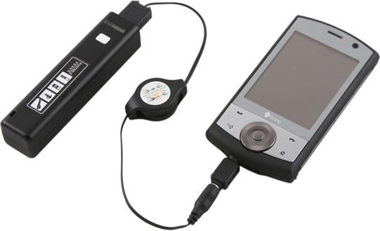 USB Power Bar with Flashlight