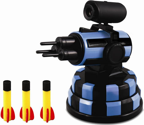 USB Missile Launcher with Webcam