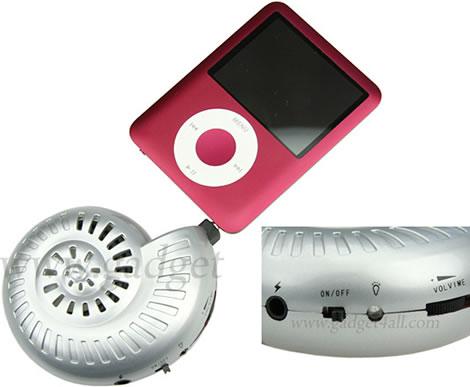 USB Shell Speaker