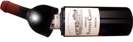 Wine Bottle USB Flash Drive