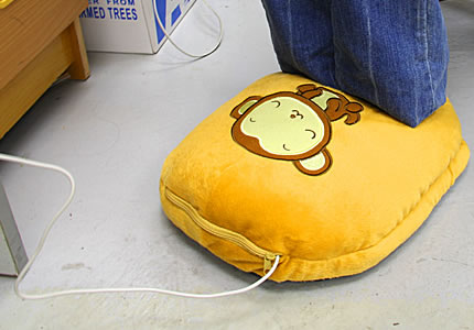 USB Monkey Slipper