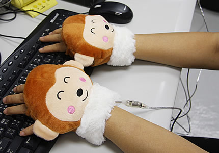 USB Monkey Hands Warmer