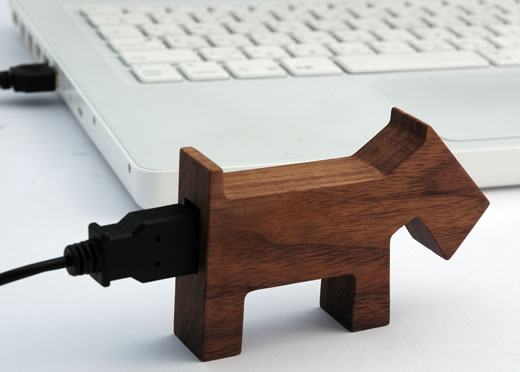 Wooden Animal USB Drives