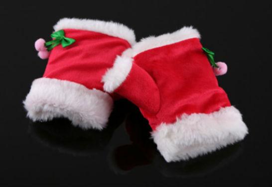 USB Christmas Heating Gloves