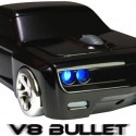 V8 Bullet - Wireless Car-Shaped Mouse