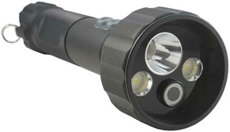 Flashlight with Video Camera