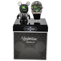 Limited Edition Vinylmation Mickey Mouse Figure and Watch