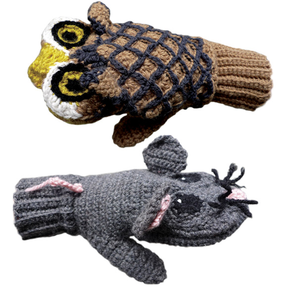 Owl and Mouse Vs Mittens