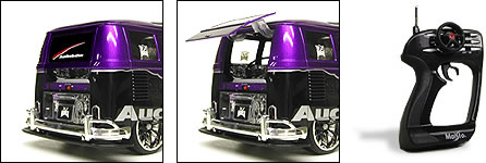 MP3 Compatible R/C VW Van