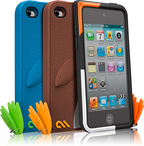 Case-Mate Waddler iPod Touch 4th Gen Cases