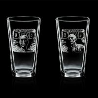 The Walking Dead Pint Glasses