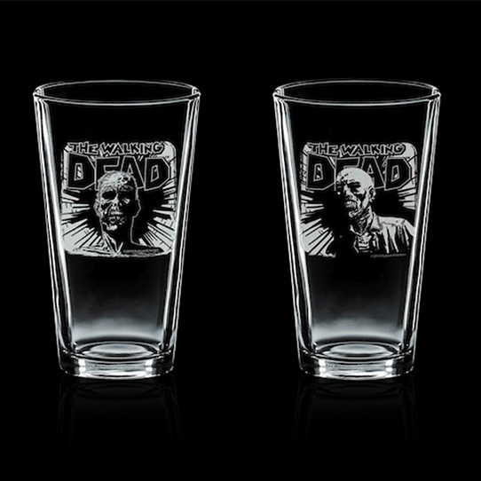 The Walking Dead Pint Glasses