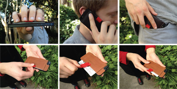 Wally iPhone Leather Wallet Case