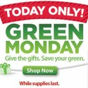 Walmart Green Monday Deals 2012