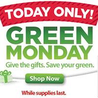 Walmart Green Monday Deals 2012